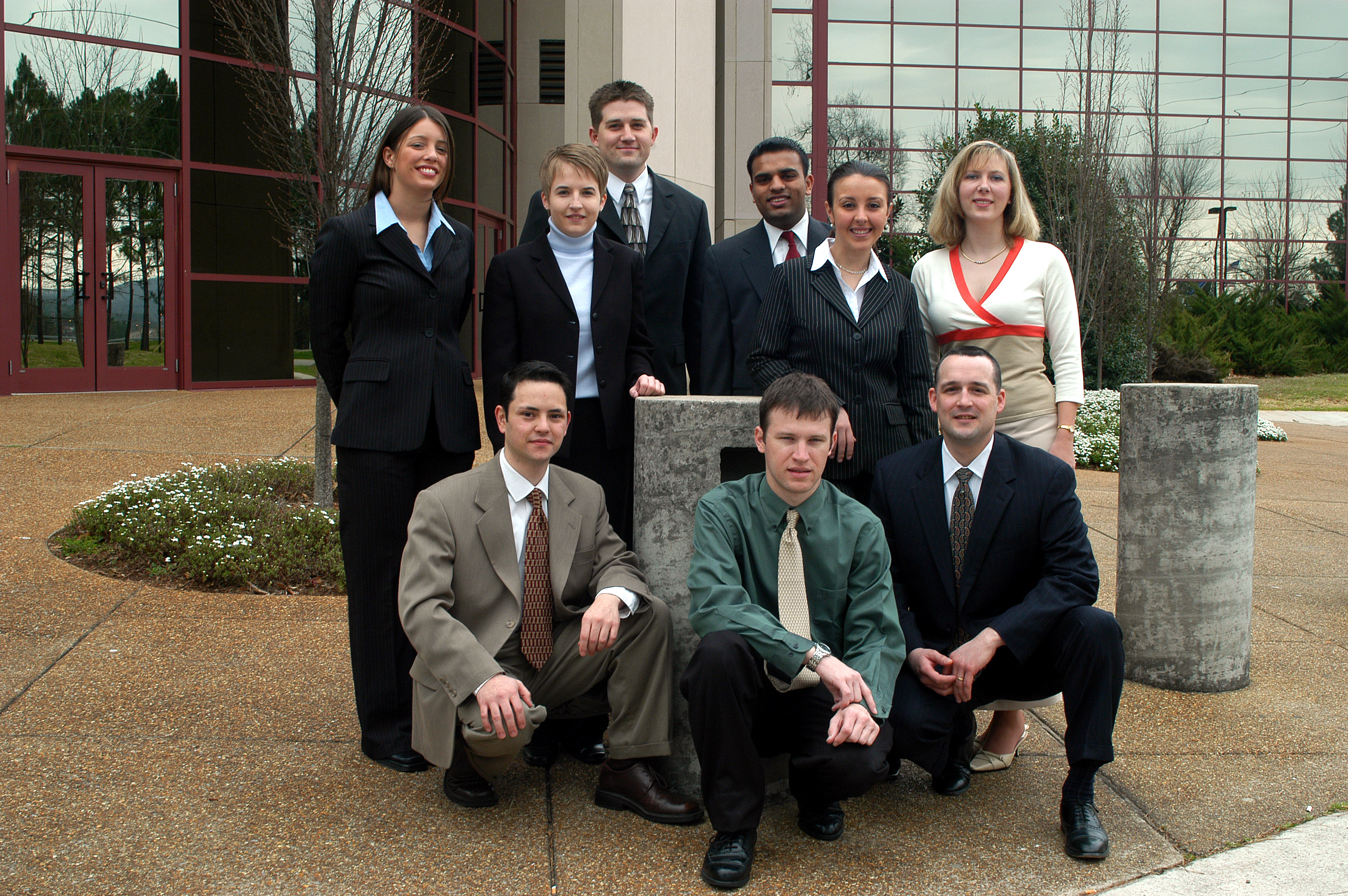Photograph of 2004 CMG members